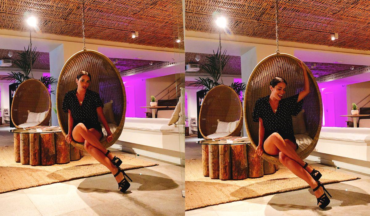 Las fotos de Lali Espósito, una bomba suelta en Ibiza
