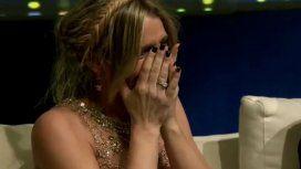 Rocío Marengo, llorando en vivo