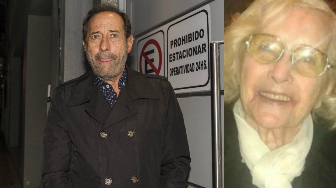 El dolor de Guillermo Francella: murió su mamá