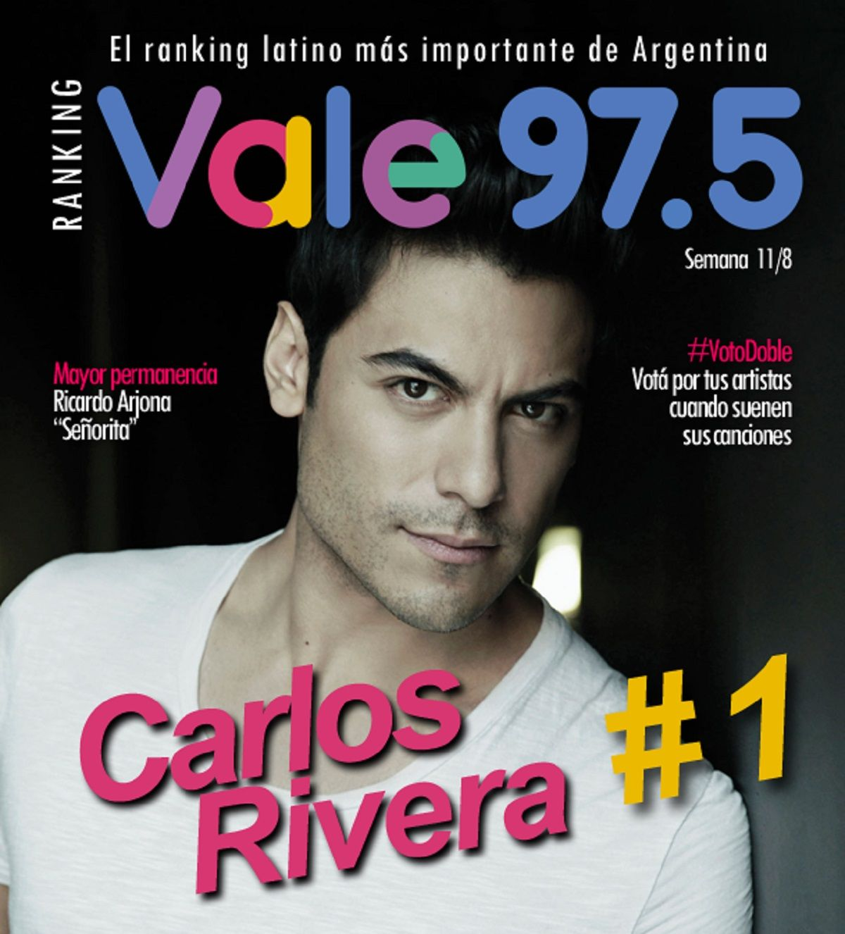 Carlos Rivera, imparable en el Ranking Vale