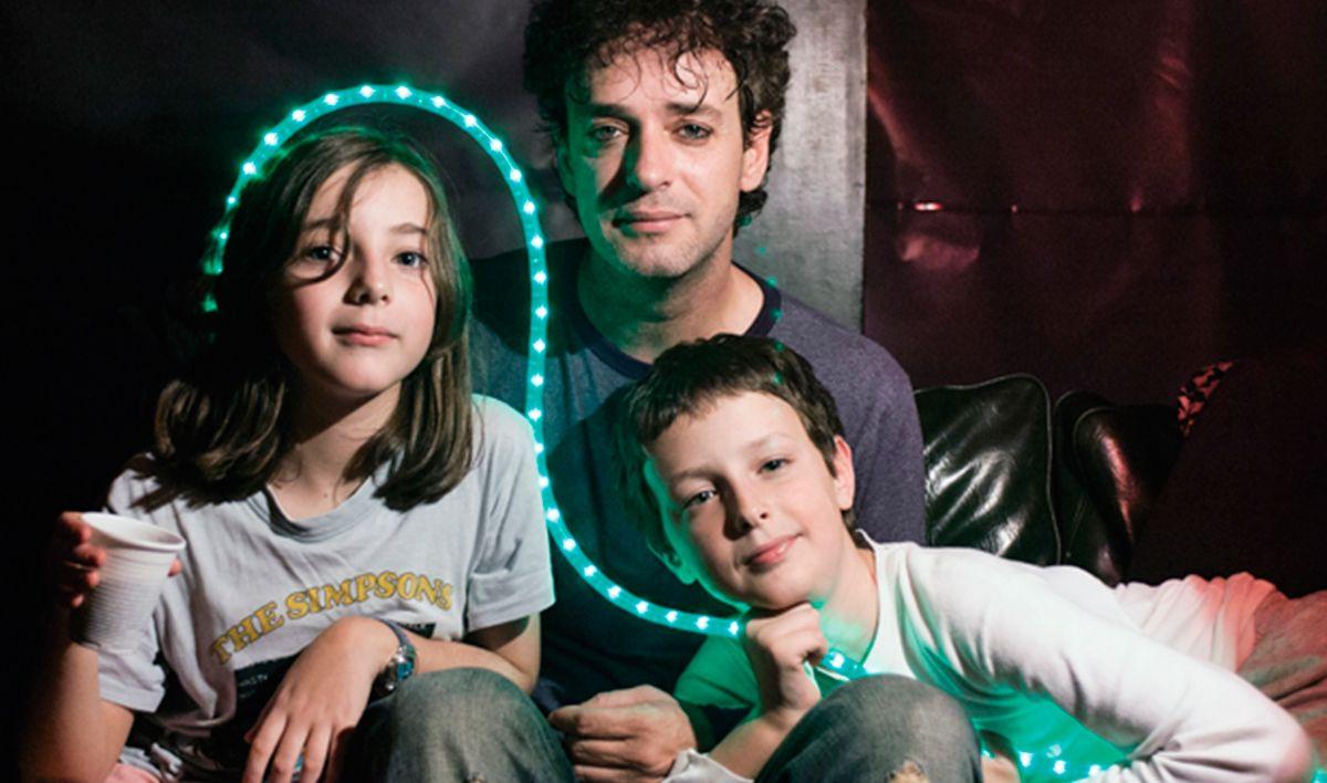 Gustavo junto a Lisa y Benito
