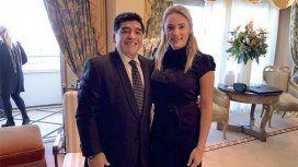 Diego Maradona y Rocío Oliva, ¿nueva dupla técnica?