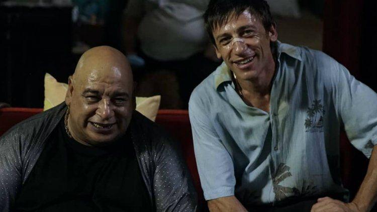 Roly Serrano y Diego Camoranesi como El sapo y Quique