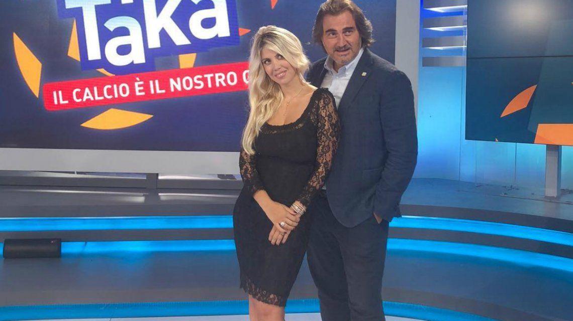 El adelanto de Wanda Nara en la TV italiana: mate y termo bajo el brazo