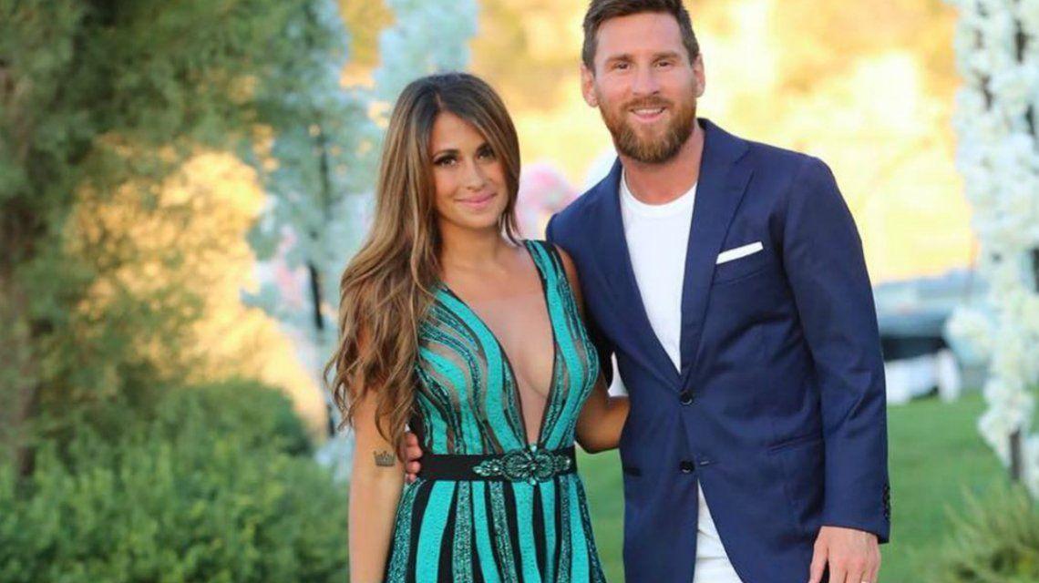 Mirá lo que meriendan Anto Roccuzzo y Lionel Messi