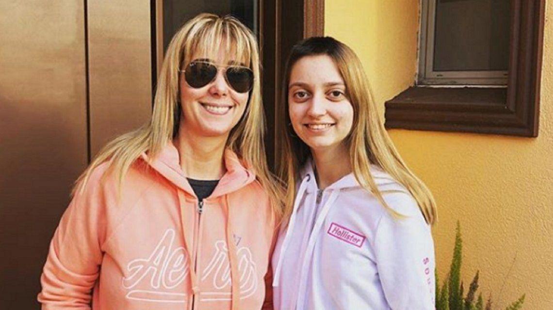 El tumor no creció: la alegría de Marisa Brel por la salud de su hija