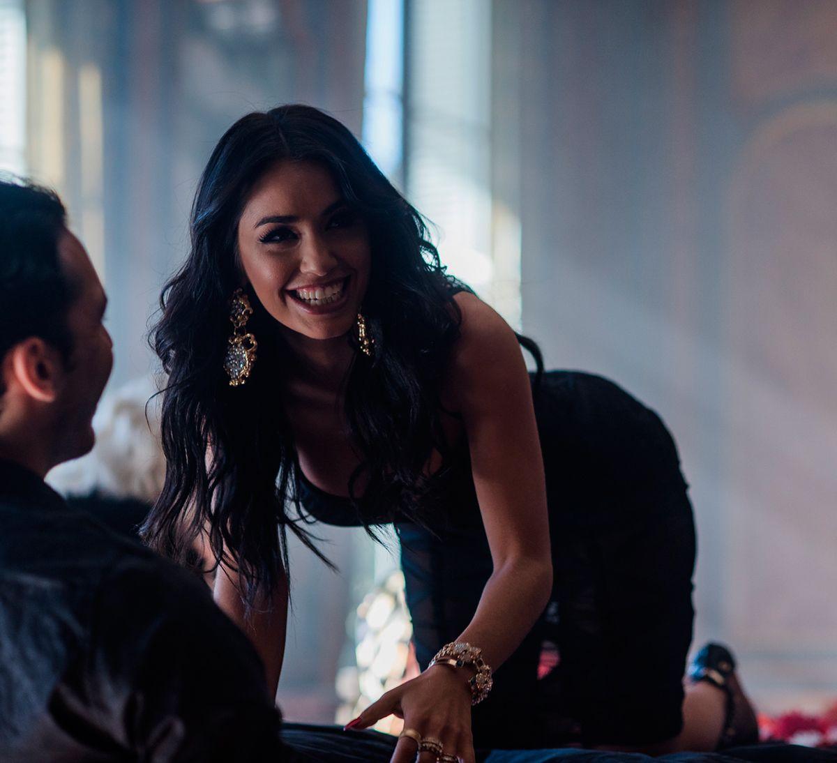 Lali Espósito mostró cómo se grabó el video de Besarte Mucho