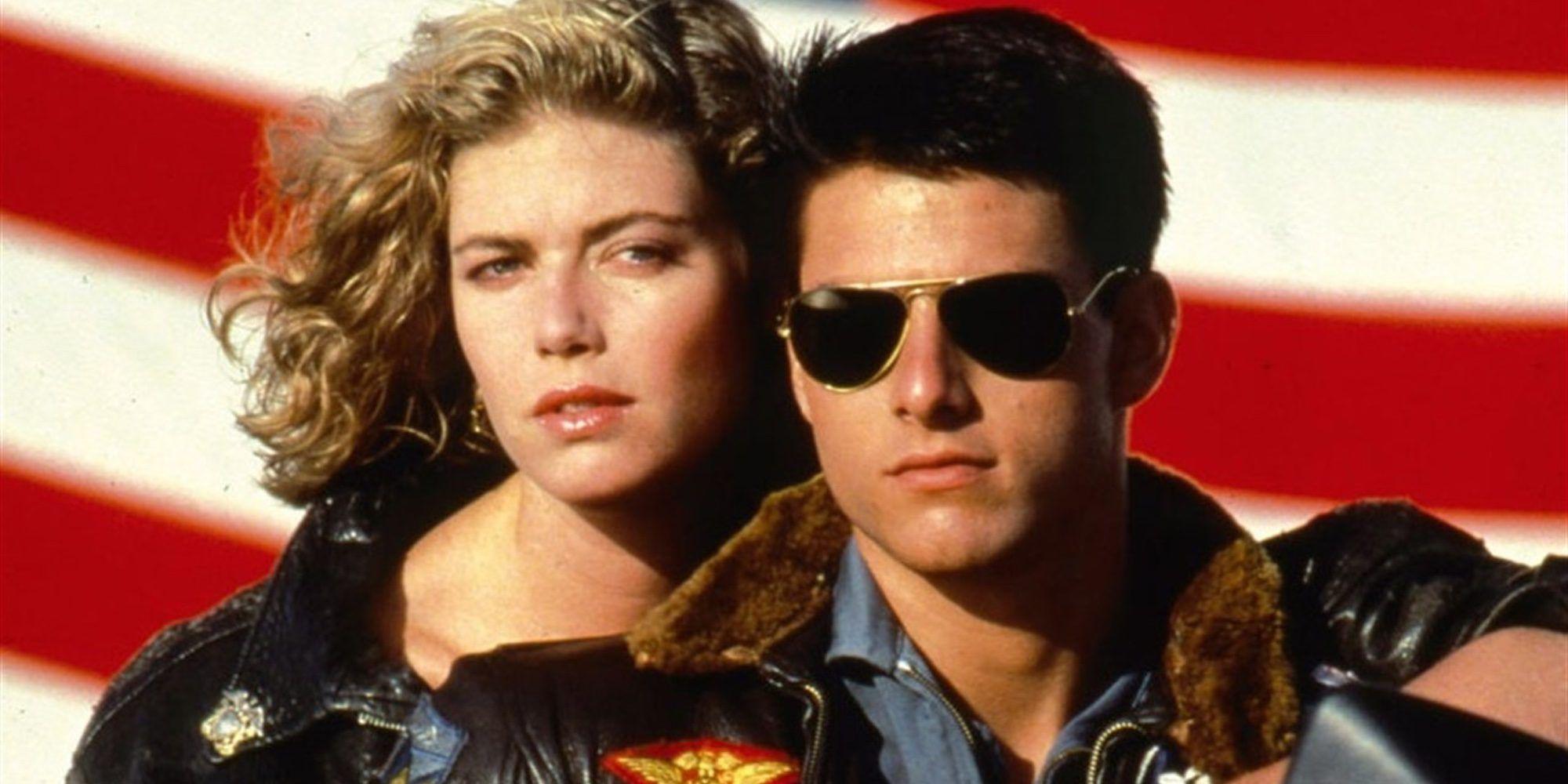 Kelly McGillis y Tom Cruise