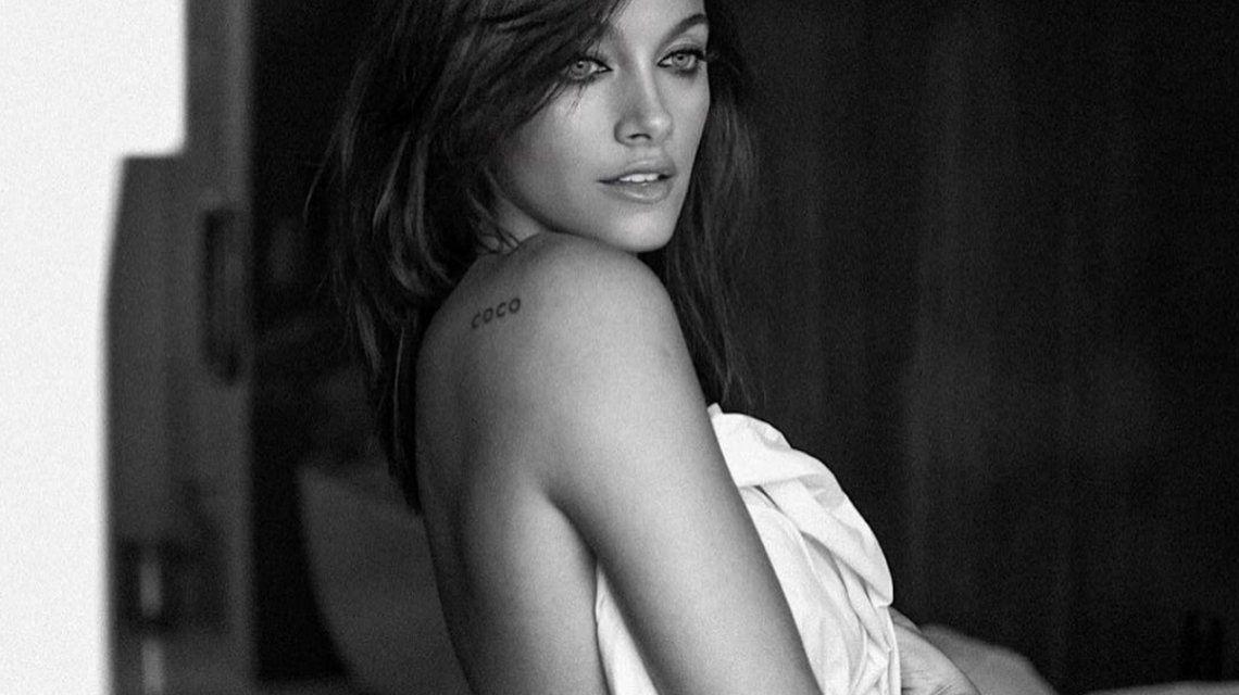 Oriana Sabatini en la foto que publicó con Photoshop