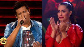 Lali no pudo contener el llanto tras la actuación de Marcelo Santillán