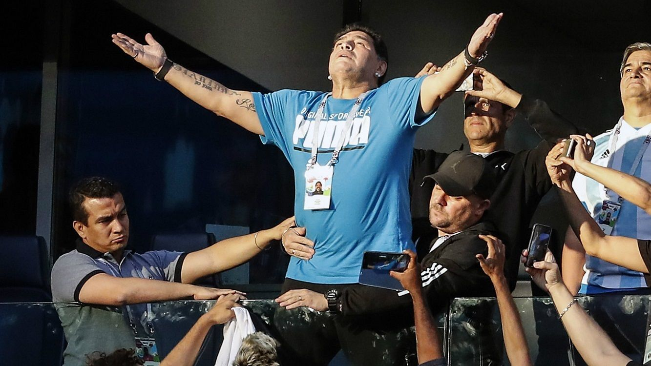 Diego Maradona encontró al autor del audio de su falsa muerte