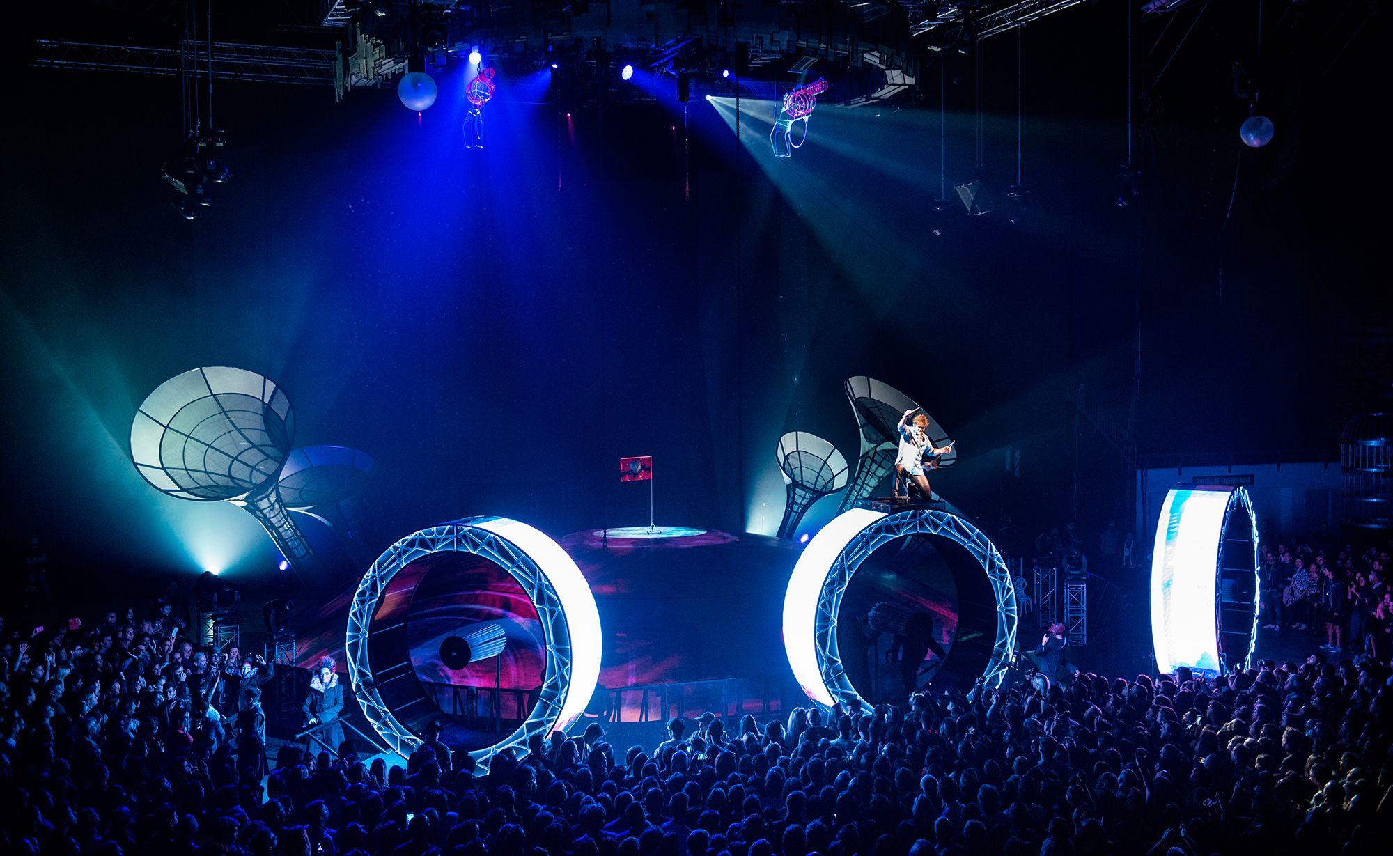 Soda Stereo-Cirque du Soleil: emoción y potencia en modo 360°