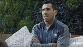 Tevez en el documental