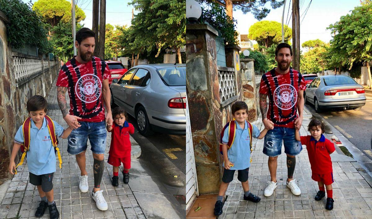 ¿Cómo es la prestigiosa escuela bilingüe a la que asisten los hijos de Messi?