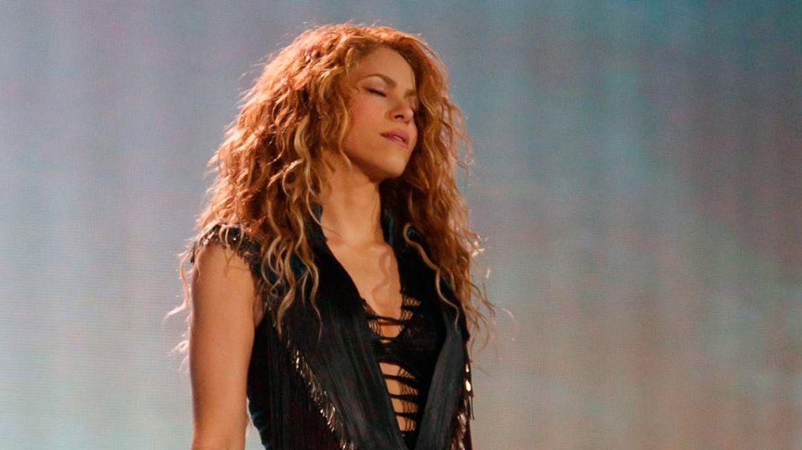 Shakira en su show de California