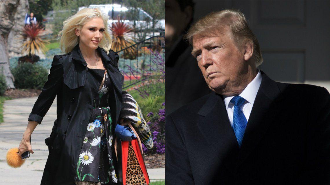 Por qué dicen que Gwen Stefani hizo presidente a Donald Trump