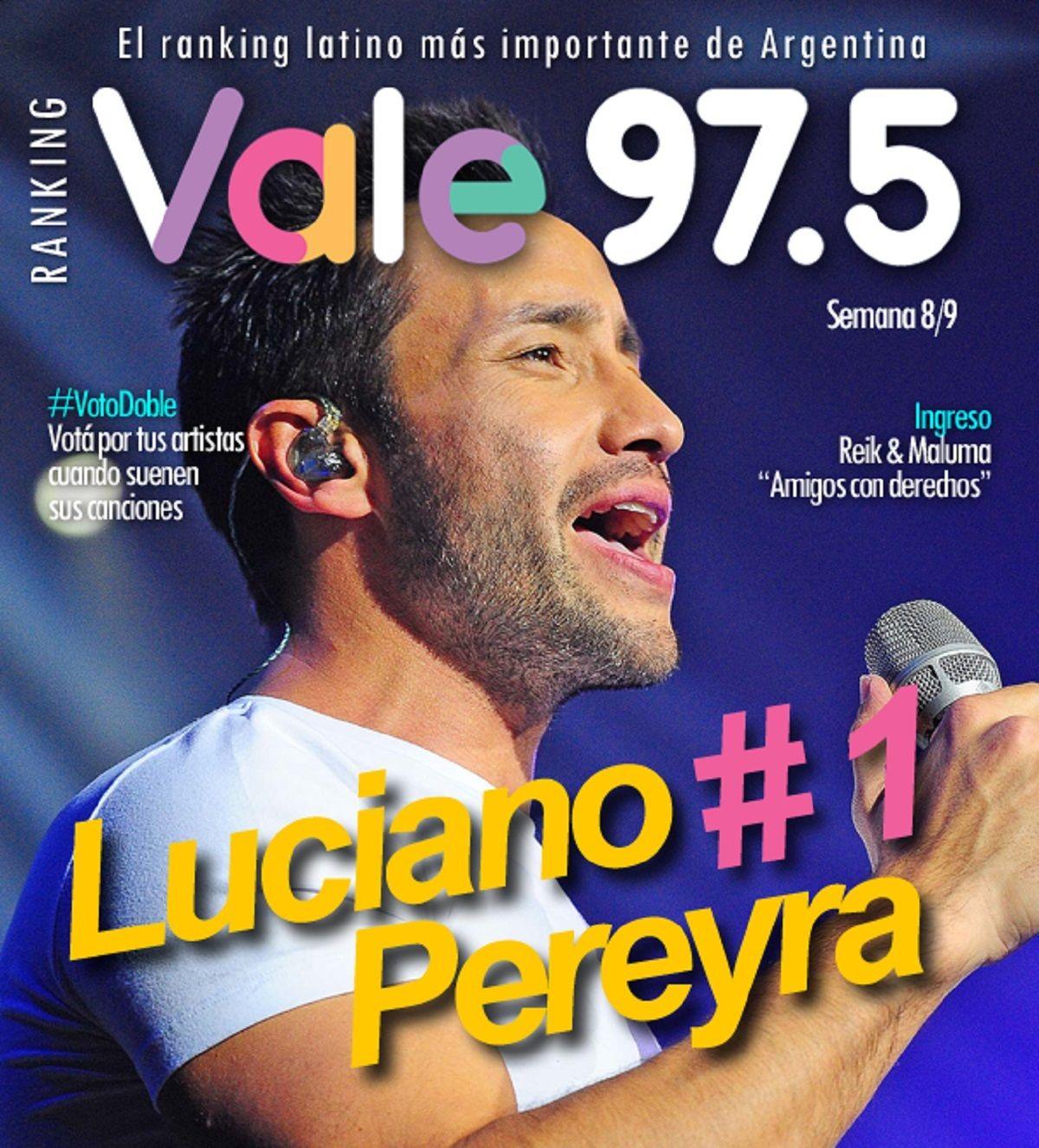Luciano Pereyra llegó al N°1 del Ranking Vale