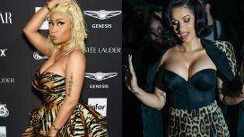 Nicki Minaj y Cardi B, a las piñas en la Semana de la Moda de Nueva York