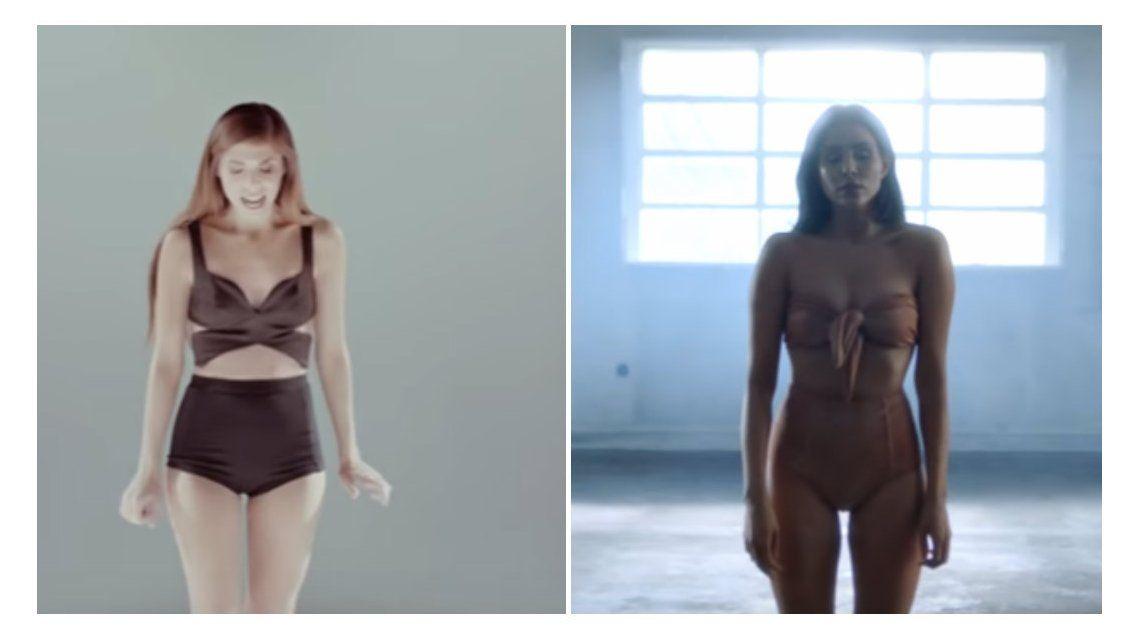 Polémica abierta: el video de Christina Perri ¿que copió Cande Tinelli?