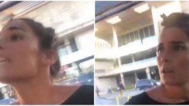 Escandalosa pelea de Juana Viale en un estacionamiento