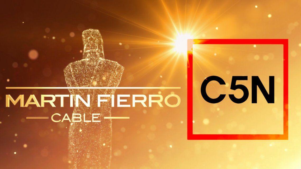 C5N tiene 7 nominaciones al Martín Fierro de Cable: todos los candidatos
