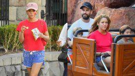 Shakira, de vacaciones junto a Piqué, Sasha y Milán