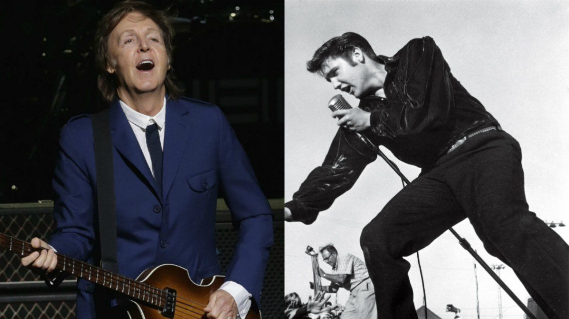 Paul McCartney reveló una insólita anécdota con Elvis Presley