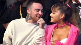 Ariana Grande rompió el silencio tras la muerte de Mac Miller