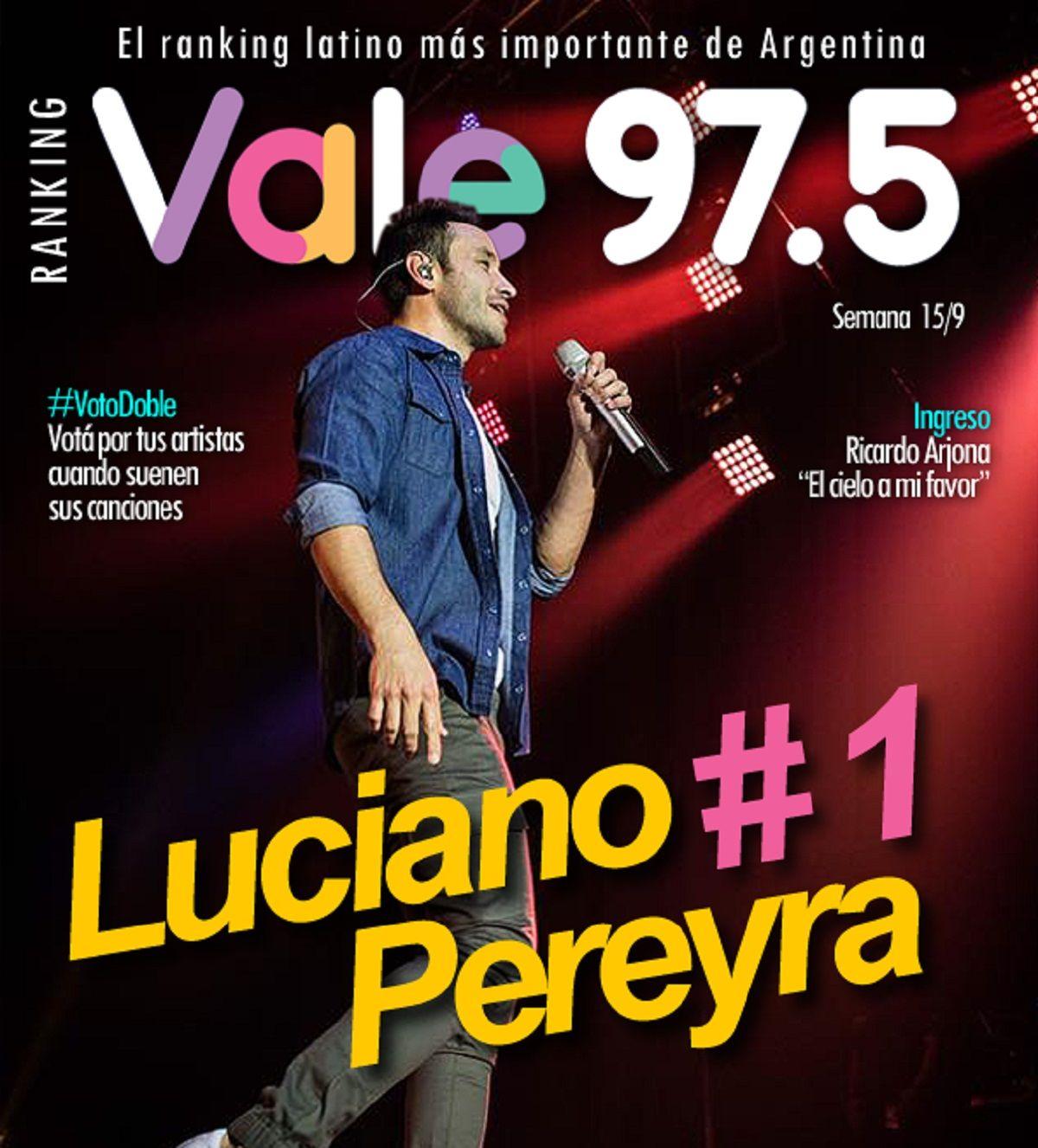 Luciano Pereyra sigue liderando el Ranking Vale