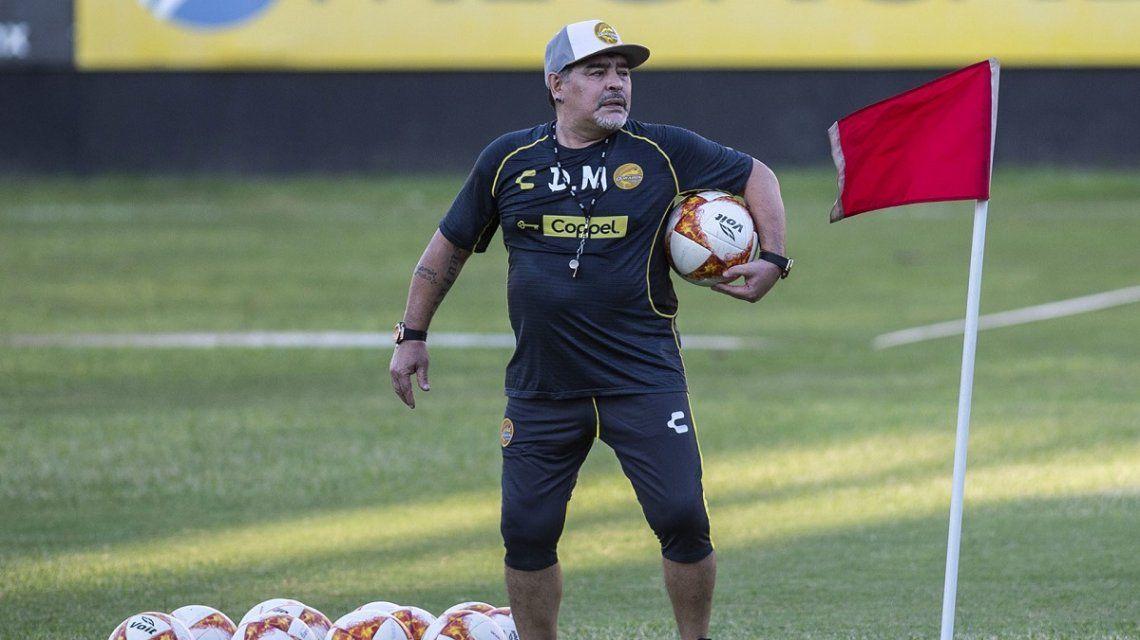El insólito pedido de Diego Maradona a un parrillero argentino en Sinaloa