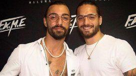 ¡Creer o reventar! Maluma encontró a su clon en Italia