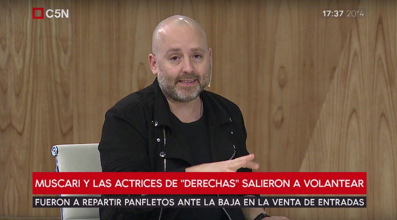 José María Muscari: Hay gente que le cuesta llegar a fin de mes, imaginate ir al teatro