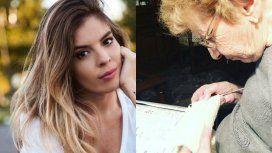 La tierna foto de su abuela Loly que compartiò Dalma Maradona