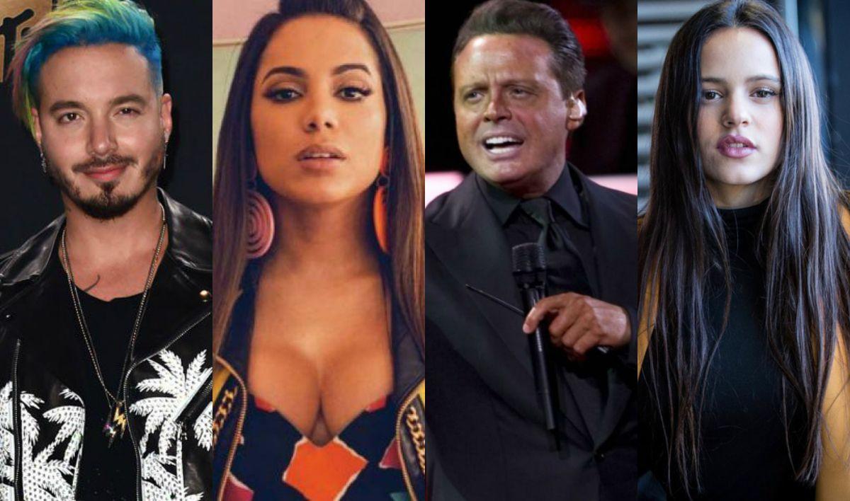 Todos los artistas nominados a los Latin Grammy