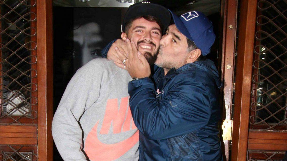 El especial saludo de Maradona por el cumpleaños de Diego Jr.