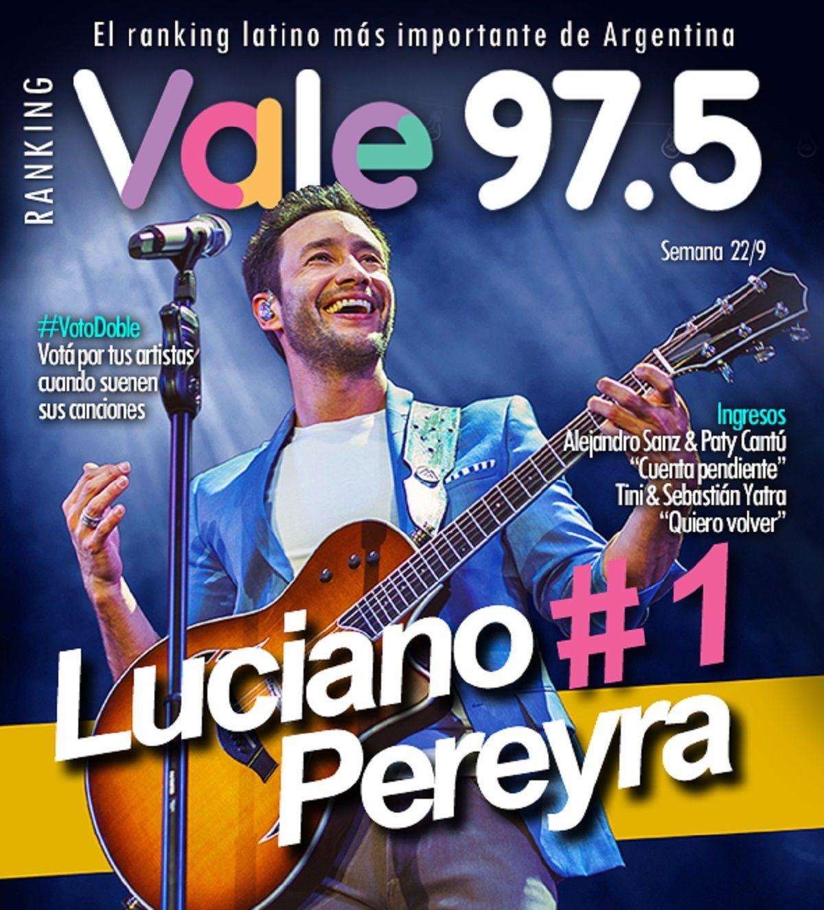 Luciano Pereyra, el rey del Ranking Vale