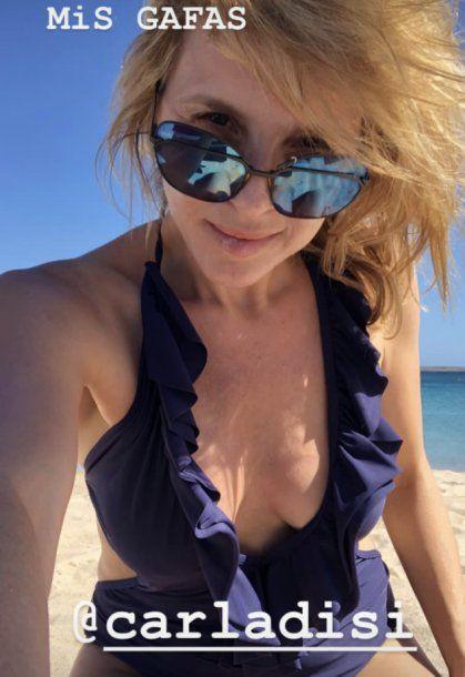 Carla Peterson: lomazo y belleza al natural