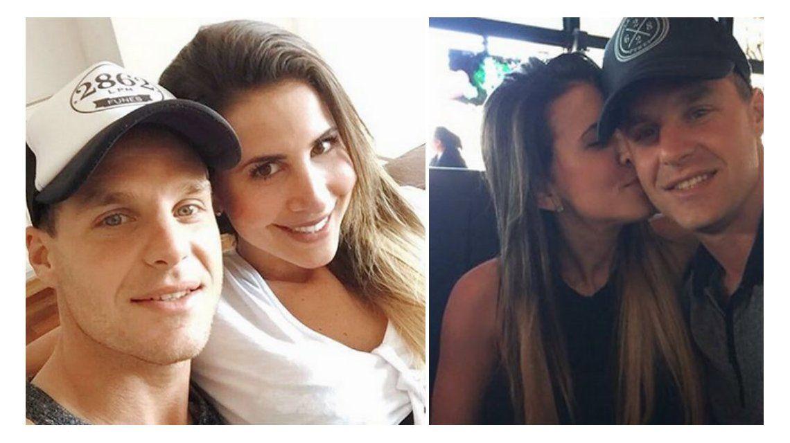 Daniela Katz se casa con el arquero El Ruso Rodríguez.