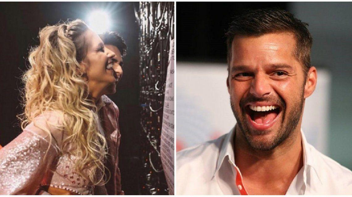 Ricky Martin le envió un saludo especial a Soledad Fandiño