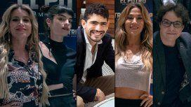 Florencia Peña, Malena Sánchez, Rodrigo Romero, Jimena Barón y Fernán Mirás