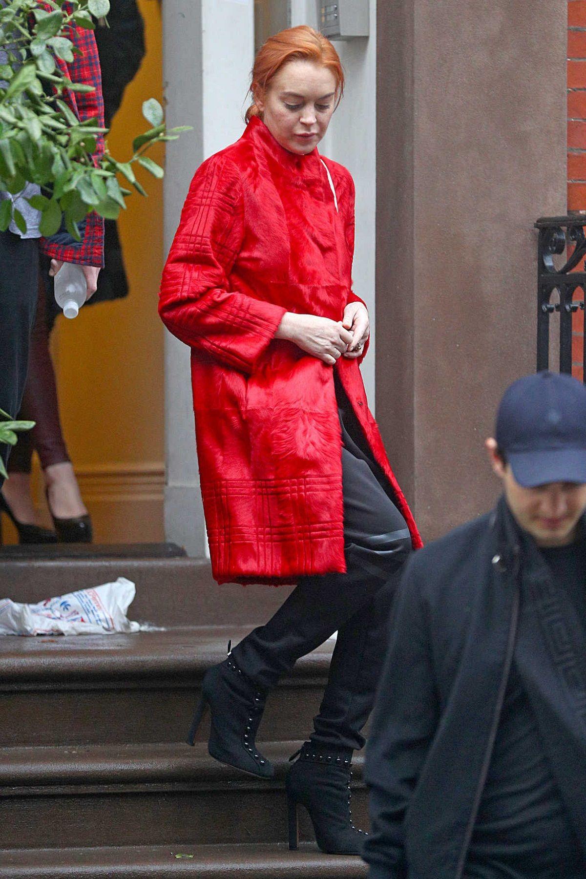 Lindsay Lohan quiso secuestrar a dos chicos refugiados y fue golpeada por la madre
