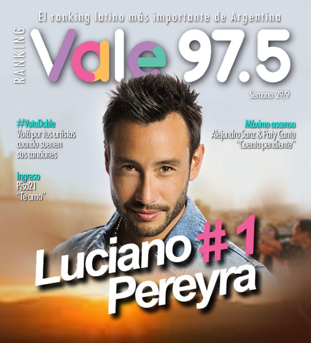 Nadie puede con Luciano Pereyra en el Ranking Vale