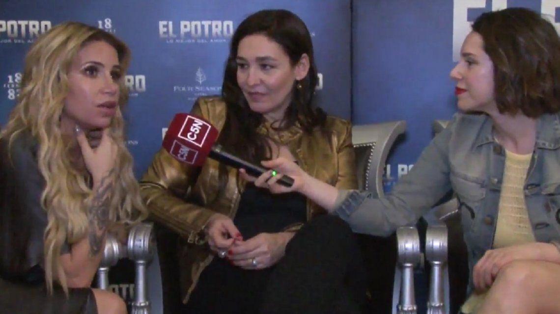 Flor Peña es Beatriz Olave en El Potro