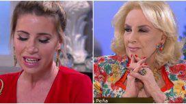 Mirtha le dijo a Flor Peña que no estaba de acuerdo con el poliamor.