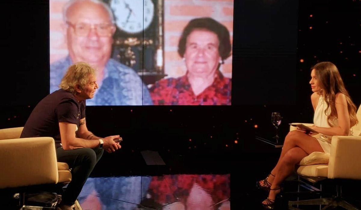 Beto Casella en Pampita íntima