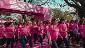 Caminata por la lucha contra el cáncer de mama
