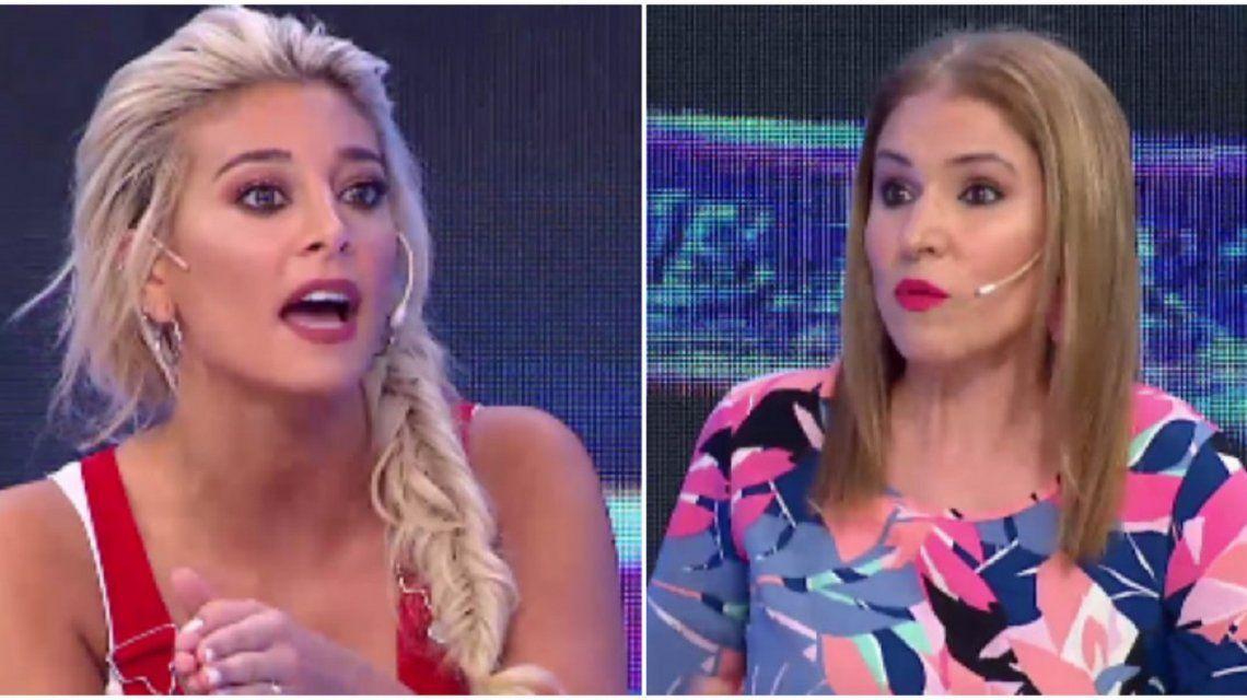 Fuerte discusión entre Fernanda Iglesias y Sol Pérez.