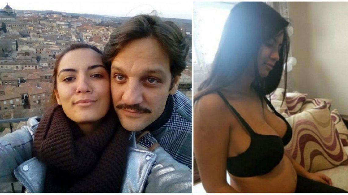 Rodrigo de la Serna y Ludmila Romero esperan su primer hijo.