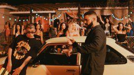 Junto a Bad Bunny, Drake volvió a cantar en español y estallaron los memes