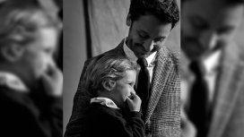 Benjamín Vicuña y su hijo Benicio